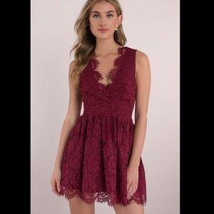 """Tobi Scalloped Dress """"Lauren"""""""